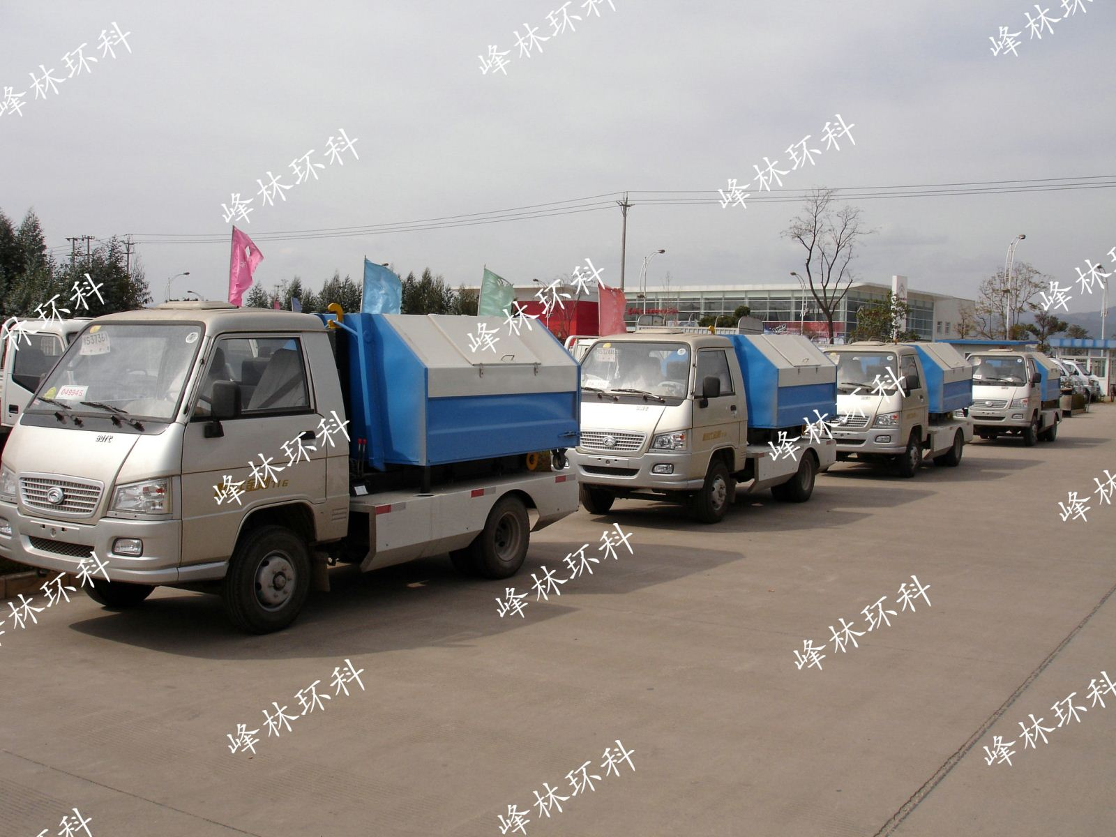 澄江钩臂式垃圾车