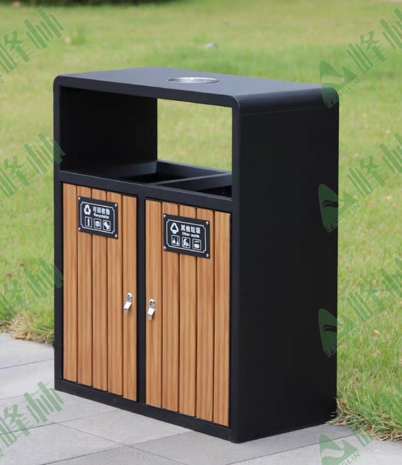 钢木果皮箱45