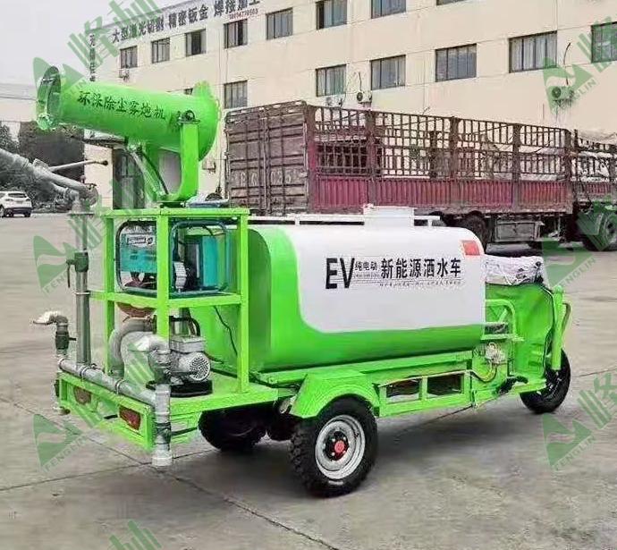 新能源洒水三轮车